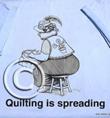 Quilting is Spreading Tee