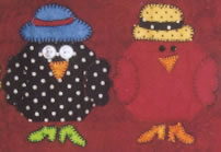 Chicks with Hattitude Pattern