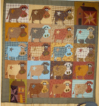 Old Made Quilts Product Index : cow quilt block - Adamdwight.com