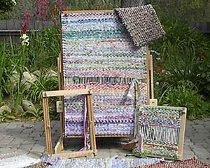 Old Made Quilts Rag Rug Frames